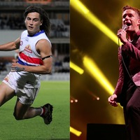 The Killers' Mr Brightside being read by an Australian sports commentator is oddly enthralling
