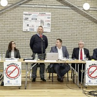 Elected representatives and residents express anger at incinerator decision at public meeting