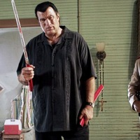 Sleb Safari: Steven Seagal 'risked his life countless times for the American flag'