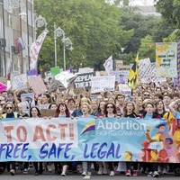 40,000 march through Dublin for change to Republic's strict abortion laws