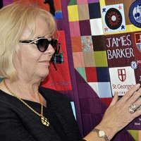 Patchwork quilt remembers 62 children killed during Troubles
