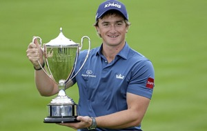Paul Dunne and Rory McIlroy make it an Irish one-two in British Masters