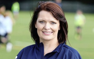 Belfast mother finding her footie feet as first female chair of Rosario Football Club