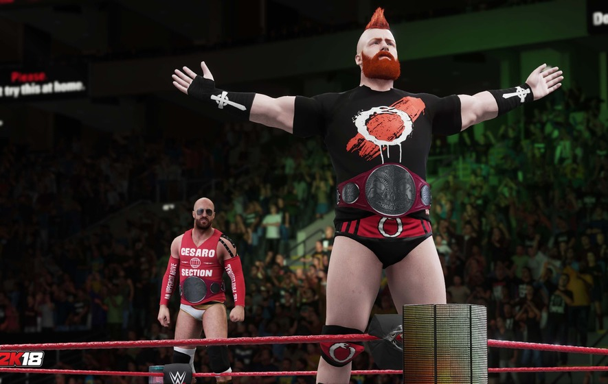 WWE 2K18 Reveals Road to Glory Mode