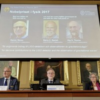 Gravitational wave scientists awarded the 2017 Nobel Physics Prize