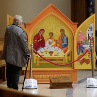 Holy Family icon tours Down and Connor parishes