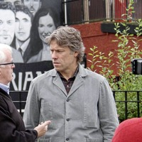 Comedian John Bishop visits Derry sites for TV documentary