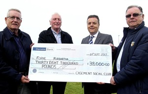 Antrim quids in after big donation from Casement Park social club
