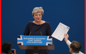 Prankster held over PM's P45 stunt had legitimate accreditation, say police