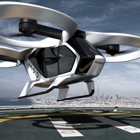 Self-piloted flying taxis take a step closer to reality as Airbus tests propulsion system