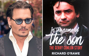 Johnny Depp joined Gerry Conlon and his family for a driving holiday in Ireland in August 1990, new book reveals