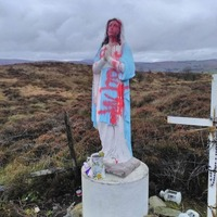 Anger after Co Tyrone Our Lady statue defaced