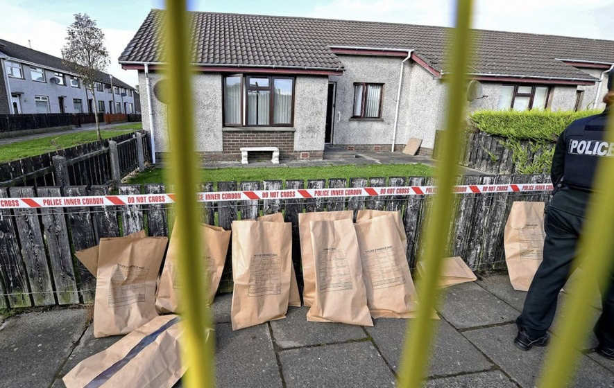 PSNI: sudden death in Larne 'suspicious'