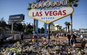 Las Vegas police change timeline of mass shooting – gunman shot hotel security guard before opening fire
