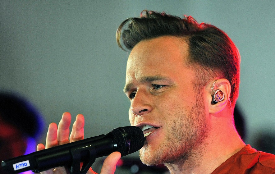 Olly Murs confirmed for The Voice""