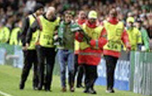 Celtic fined over Co Armagh man's pitch invasion against PSG
