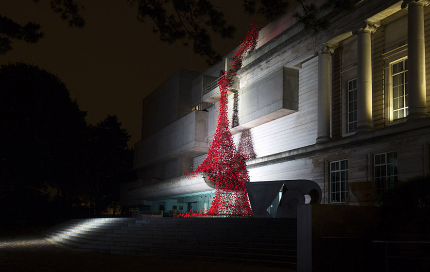 Weeping Window Poppy Display Opens At Ulster Museum The