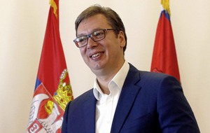 Serbia president Aleksandar Vucic vows to take country into European Union