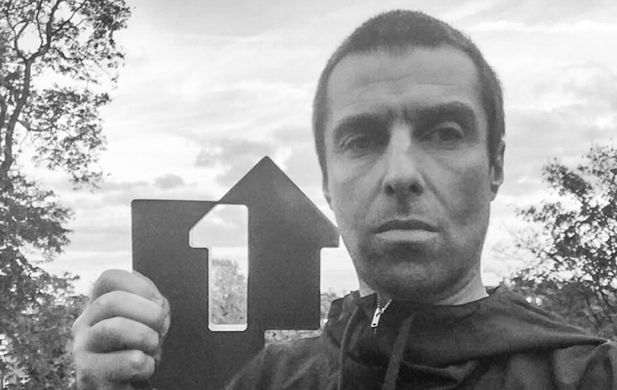 Liam Gallagher tops album chart with solo debut