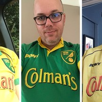 Here is why Norwich City fans were wearing their old Colman's shirts