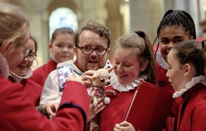 All creatures great and small at special St Anne's Cathedral service for pets