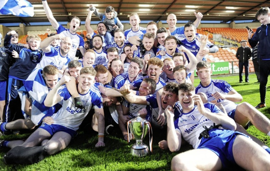 Plucky Armagh Harps in tune to see off Maghery and land