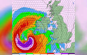 Ophelia claims a third life while schools across the island remain closed tomorrow