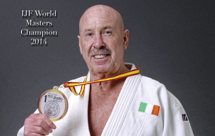 Judo veteran Harry McGuigan (75) on why age will only ever be a