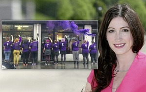 Emma Little Pengelly accuses 'F*** the DUP' protesters of hypocrisy