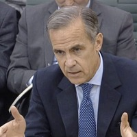 Pound down against dollar despite governor's rate hike warning