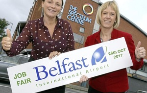 More than 100 airport posts on offer at Shankill jobs fair