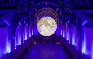 Museum of The Moon lands at Derry's Guildhall in time for Halloween