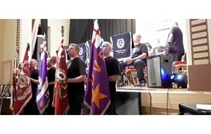 Council to probe footage of UVF flag displayed at town hall during loyalist band concert