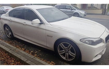 Police appeal for help in tracing owner of BMW parked on Enniskillen street for four months