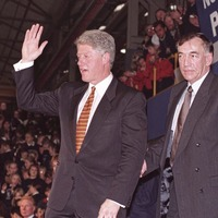 Pat Dougan, the Mackies boss who welcomed President Clinton, dies aged 84