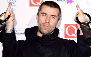 Liam Gallagher calls himself the 'best live wire' as he collects Q gong