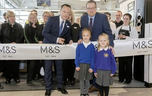 New M&S foodhall opens for business in Antrim