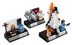 Lego is celebrating Nasa's pioneering women with a new 231-piece set