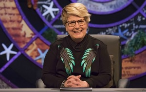 Sandi Toksvig: Being QI host means I can't be naughty