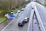 Woman (33) accused of causing death of pensioner in a six-car motorway crash