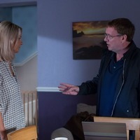 EastEnders' Ian Beale in deep discussion with Kathy as he hunts for Jane