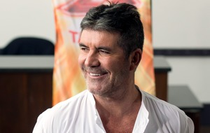 Simon Cowell makes joke about Cheryl's ex