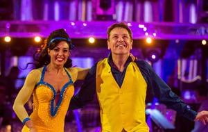 Brian Conley complains about Strictly studio toilets as he leaves the show