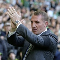 Celtic boss Brendan Rodgers brushes off link with Leicester City job