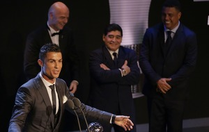Cristiano Ronaldo named Fifa men's player of the year 2017 and Messi fans are in uproar