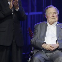 George H W Bush 'apologises amid claims made by actress'