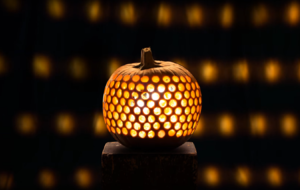 Hundreds of pumpkins were carved to make this mesmerising stop-motion animation