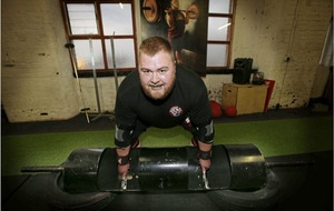 Strongman Michael Downey hoping to log top lift at championships
