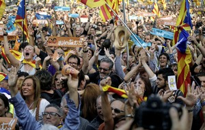 Spain faces territorial showdown a Catalonian parliament declares independence