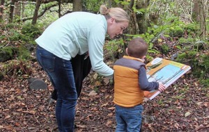 New Stick Man activity trail launched at Colin Glen Forest Park